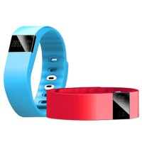 TW64 Fitness Tracker Bluetooth Smartband Sport Bracelet Smart Band Wristband Pedometer for iPhone IOS Android