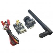 5.8G 32CH 600mW Audio Video AV Transmitter Tx with 700 TVL Camera for FPV