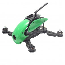 Carbon Fiber 4-Axis Frame Robocat B270 270mm Racing Mini Quadcopter Frame with Hood Cover for FPV Green
