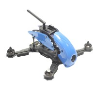 Carbon Fiber 4-Axis Frame Robocat B270 270mm Racing Mini Quadcopter Frame with Hood Cover for FPV Blue