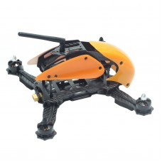 Carbon Fiber 4-Axis Frame Robocat B270 270mm Racing Mini Quadcopter Frame with Hood Cover for FPV Orange