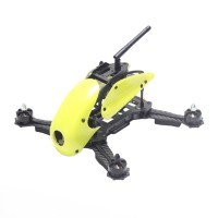 Carbon Fiber 4-Axis Frame Robocat B270 270mm Racing Mini Quadcopter Frame with Hood Cover for FPV Yellow