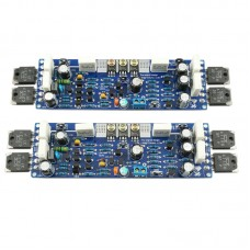 LJM Mono Class AB L12-2 Dual Channel 55V 120W Power Amplifier Board Audio Amp
