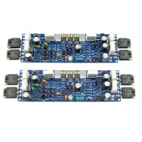 LJM Class AB L12-2 55V 120W Dual Channel Finished Audio Power Amplifier Board Amp