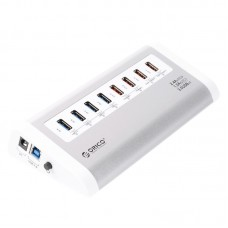 ORICO UH4C4 White 8 Ports USB 3.0 Charging HUB USB Splitter for Ipad Iphone Charger Computer PC Laptop