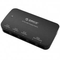 ORICO DCP-5U-BK 5 Port Universal USB Desktop Charger for iPad iPhone Samsung Phone Tablet