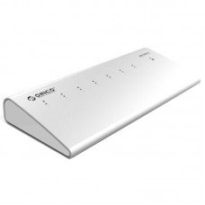 ORICO H73-SV High-Speed 5Gpbs Aluminum HUB Splitter USB 3.0 HUB Driver 7 Ports for Laptop Computer