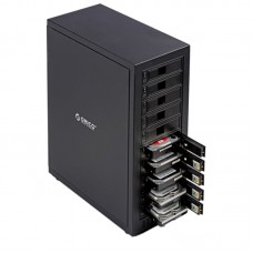 ORICO 1088USJ3 Aluminum 3.5 inch SATA External Enclosure USB3.0 Port 10Bay Hard Disk Box HDD Case