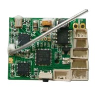 XK K110 RC Helicopter Parts Receiver Board PCB XK.2.K110.004 Circuit Board