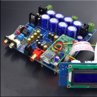 New Flagship AK4495SEQ + AK4118 Decoder Board Amplifier without USB Sub-Card for Audio