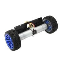 Self-Balancing Motor Car 2WD Metal Smart Car Chassis Balance Base with Encoder
