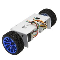 Aluminium Alloy Self-Balancing 2WD Smart Motor Car Chassis Balance Base 42 Stepper Motor