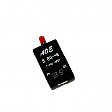 TS932 5.8G 32CH Audio Video A/V Receiver RX w/ Channel Display for FPV Multicopter Black
