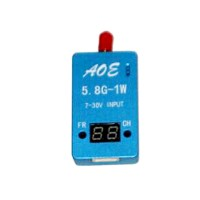 TS932 5.8G 32CH Audio Video A/V Receiver RX w/ Channel Display for FPV Multicopter Blue