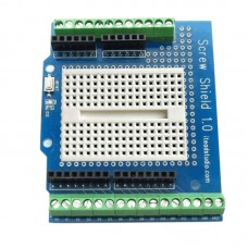 itead Arduino Prototype Development Board Protoshield Reset Button LED without Bread Plate