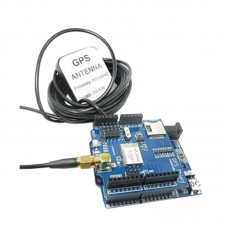 ITEAD GPS Navigation Expansion Board Shield Module No Antenna with SD Card Slot for Arduino