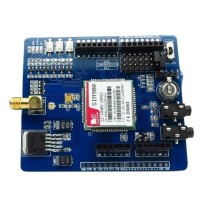 ITEAD SCM Sim900 Module GSM SMS GPRS Module Expansion Board ICOMSAT Antenna for Arduino