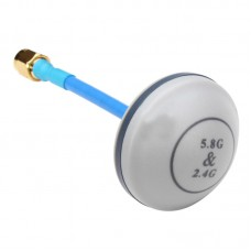 5.8Ghz 2.4Ghz Broadband Mushroom Antenna RP-SMA for FPV Tx Rx Multicopter