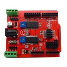 Motor Driver Shield Dual Channel Stepper Motor Drive Extension Plate Easydriver Board for Arduino DIY