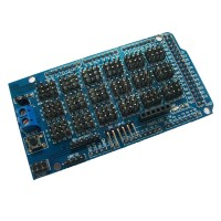 High Quality ITEAD mega2560 Dedicated Sensor Expansion Board ADK DUE IO Shield for Arduino