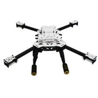 SAGA E450 Frame Folding Aerial FPV UAV F450 Chassis Quadrocopter Multicopter Frame w/Carbon Fiber Tripod