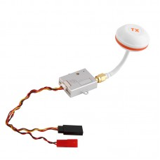 X40-6 5.8GHz Weirless AV Transmitter 40CH 600MW with Antenna Case Radiating for Multicopter