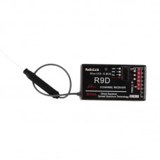RadioLink R9D 2.4G 9CH DSSS Receiver for RadioLink AT9 AT10 Transmitter RC Helicopter Multirotor Support S-BUS