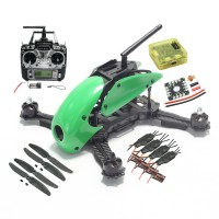 Robocat 270mm 4 Axis Carbon Fiber Racing Mini Quadcopter Frame with TX RX & Emax 2204 Motor & 12A ESC & CC3D Flight Control