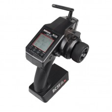 RadioLink RC4G 2.4G 4CH Gun Controller Transmitter + R4EH-G Gyro Inside Receiver for RC Car Boat