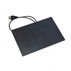 3W 5V Efficient Solar Panels Monocrystalline Silicon Wafer Solar Panel 600MA Epoxy Board