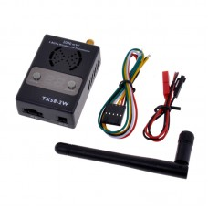 5.8G 2000mW 2W 32CH Wireless Audio Video AV Transmitter TX58-2W for FPV Multicopter