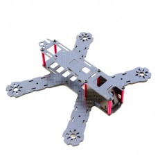 QAV210 210mm 4-Axis Carbon Fiber FPV Racing Quadcopter w/ CC3D Flight Controller Motor A/V Tx Sony 700TVL Camera