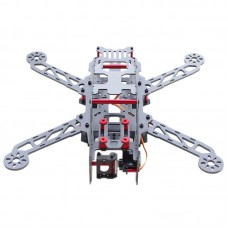REPTILE-G280 280mm 4-Axis Carbon Fiber Quadcotper Frame with FPV Camera for Aerial Photography