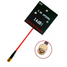 XDA FPV 5.8G 5.8Ghz 14dBi Panel Antenna for Transmitter RC832 RC805 Receiver Qav250 F450 Quadcopter