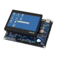 Arm11 S3C6410 OK6410-A Development Board +4.3inch Touch Screen + 14DVD Information USB to Serial