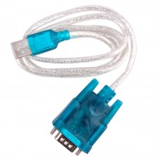 HL-340 USB to RS232 COM Port Serial PDA 9 Pin DB9 Cable Adapter Support Windows7-64