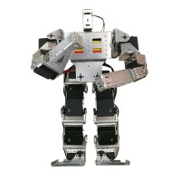 19 DOF Biped Robot Humanoid Anthropomorphic Combat Battle Robot Kit Height 38cm
