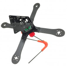 GE-X240 Monster 4-Axis Carbon Fiber Quadcopter Frame with Power Distribution Board for FPV