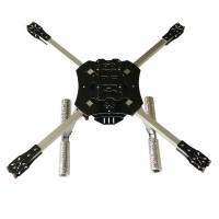 L600 600mm Folding Umbrella 3k Carbon Quadcopter Frame For