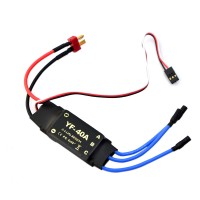Brushless ESC Motor Speed Controller 40A for RC Aircraft Helicopter Multicopter