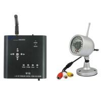 DC5V-12V 2.4GHZ Wireless DVR & Wireless CMSO Camera Kit WVR6100 with SD Card DVR
