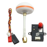 X50-6 5.8GHz Weirless AV Transmitter 40CH 600MW with Antenna Case Radiating for Multicopter