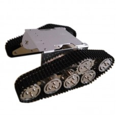 ROT-S3 Unassembled Tank Chassis Crawler Tracked Vehicle Chassis Stainless Steel Wheel for Smart Car Robot