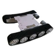 ROT-S5 Unassembled Tank Chassis Tracked Vehicle Chassis for Smart Car Robot Tanks DIY