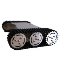 ROT-S1 Unassembled Tank Chassis Tracked Vehicle Chassis for Smart Car Robot Tanks DIY