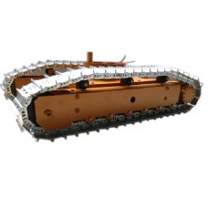 KAT-2 Tank Chassis Tracked Vehicle Obstacle Crossing Vehicle for Car Robot Tank DIY