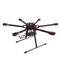 L800 Folding Umbrella 3k Carbon Hexacopter Frame for Multicopter Aerial UAV FPVS