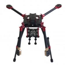 L800 Folding Umbrella 3k Carbon Fiber Quadcopter Frame for Multicopter Aerial UAV FPV