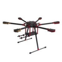 L700 700mm Folding Umbrella 3k Carbon Hexacopter Frame for Multicopter Aerial UAV FPV
