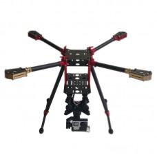 L450 450mm Folding Umbrella 3k Carbon Quadcopter Frame for Multicopter Aerial UAV FPV